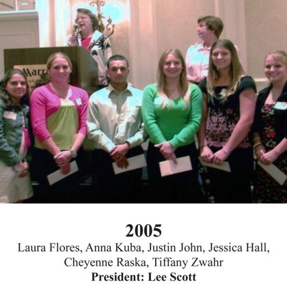2005 FBFN Foundation Scholarship Recipients