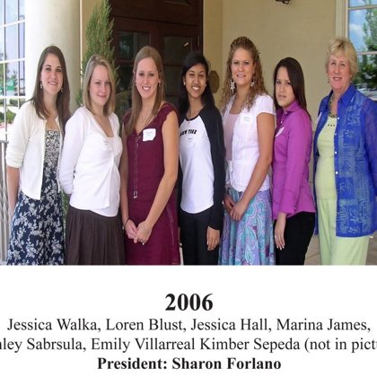 2006 FBFN Foundation Scholarship Recipients
