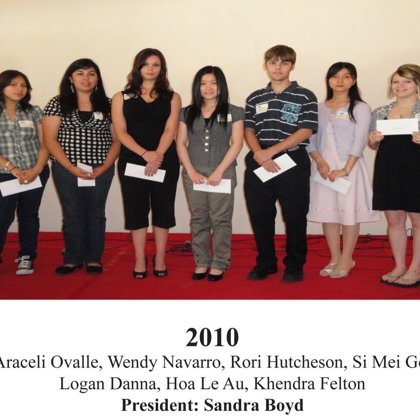 2010 FBFN Foundation Scholarship Recipients