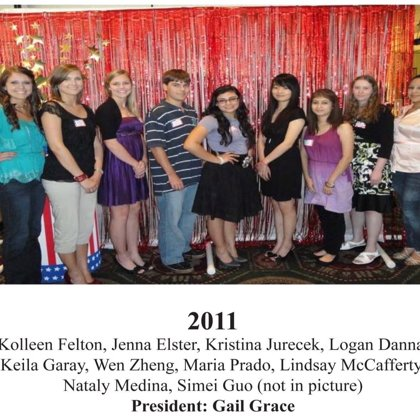 2011 FBFN Foundation Scholarship Recipients