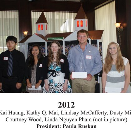 2012 FBFN Foundation Scholarship Recipients
