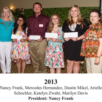 2013 FBFN Foundation Scholarship Recipients
