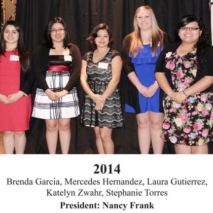 2014 FBFN Foundation Scholarship Recipients