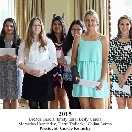2015 FBFN Foundation Scholarship Recipients
