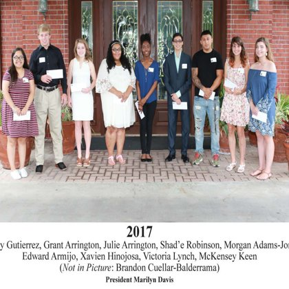 2017 FBFN Foundation Scholarship Recipients