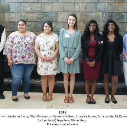 2018 FBFN Foundation Scholarship Recipients